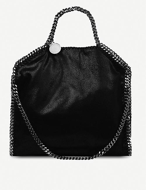 Stella Falabella Bag Medium Suede Mccartney Faux Shoulder 0wnPk8O