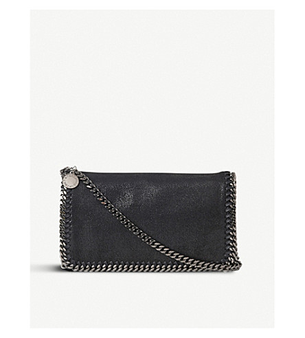 7483710afa28 STELLA MCCARTNEY Falabella cross-body bag (Black