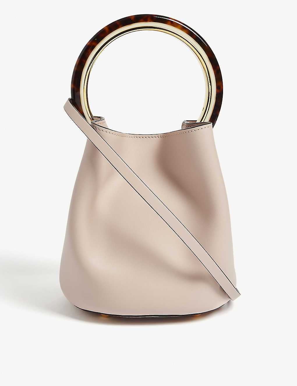 a83b8af44 MARNI - Pannier leather bucket bag | Selfridges.com