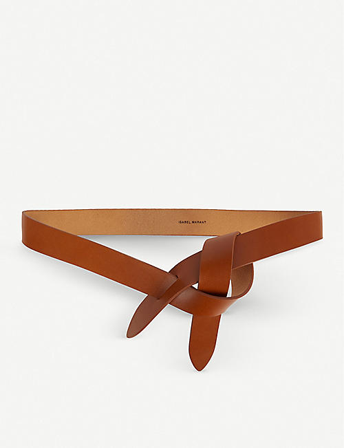 ISABEL MARANT Lecce wraparound leather belt