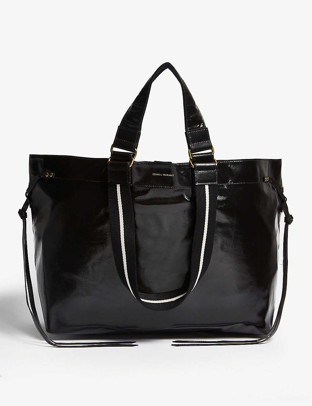 ISABEL MARANT: Wardy leather tote