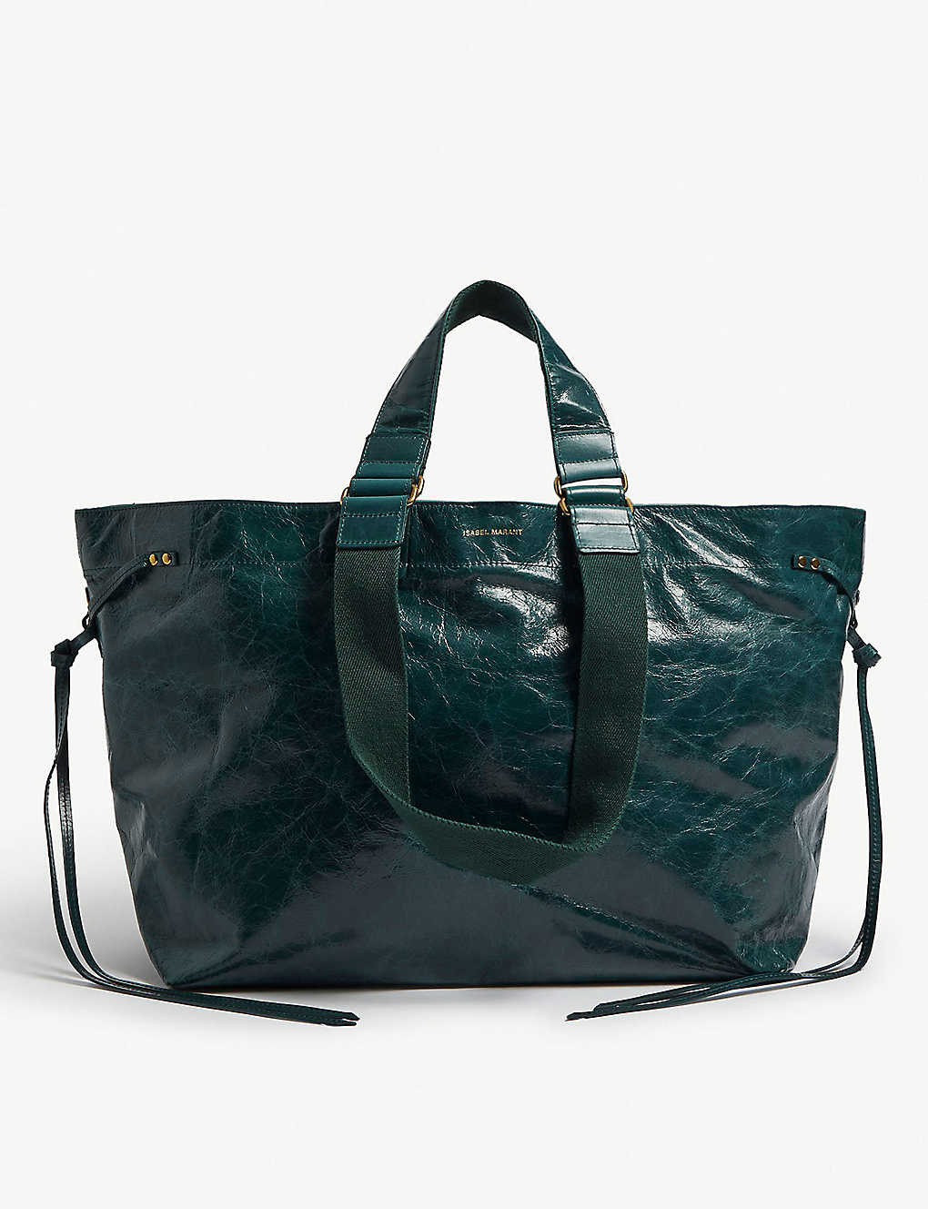 22d59ccd4d4 ISABEL MARANT - Wardy crinkled leather shopper | Selfridges.com