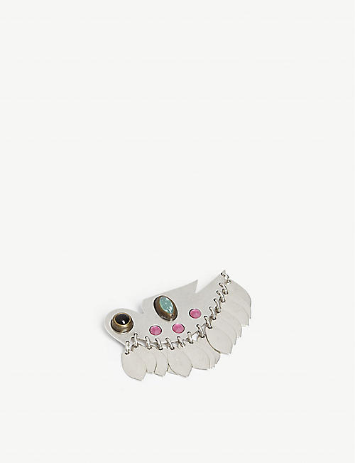 ISABEL MARANT Bird brooch