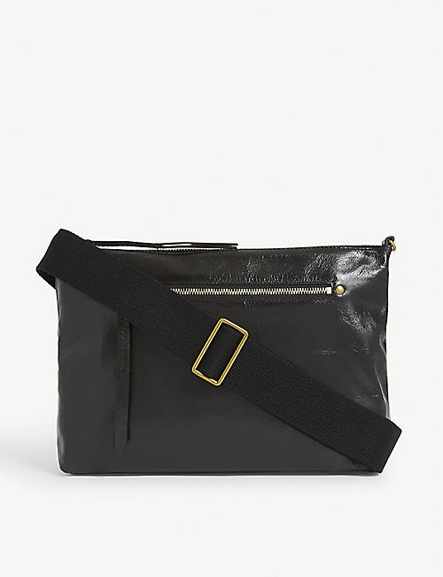 ISABEL MARANT Nessah leather shoulder bag
