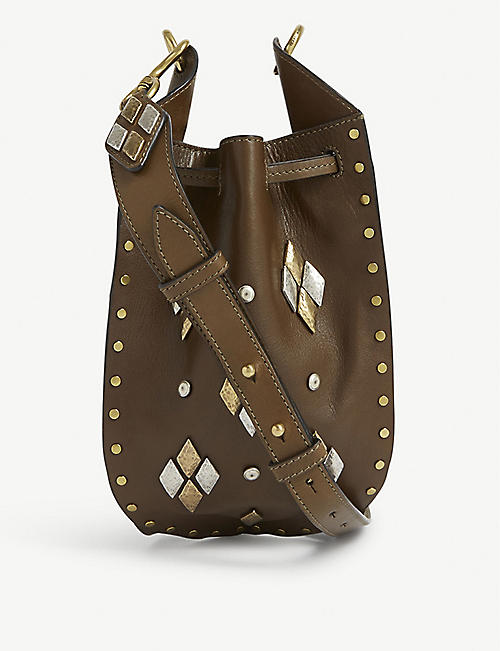 ISABEL MARANT Radja leather shoulder bag