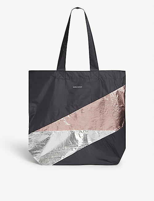 ISABEL MARANT Woom nylon tote bag