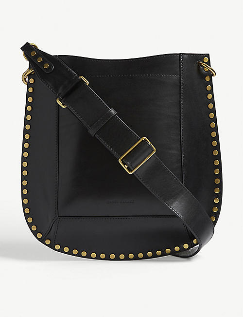 ISABEL MARANT Oskan leather cross-body bag