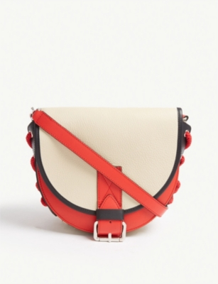 JW ANDERSON Bike colour-block small leather shoulder bag