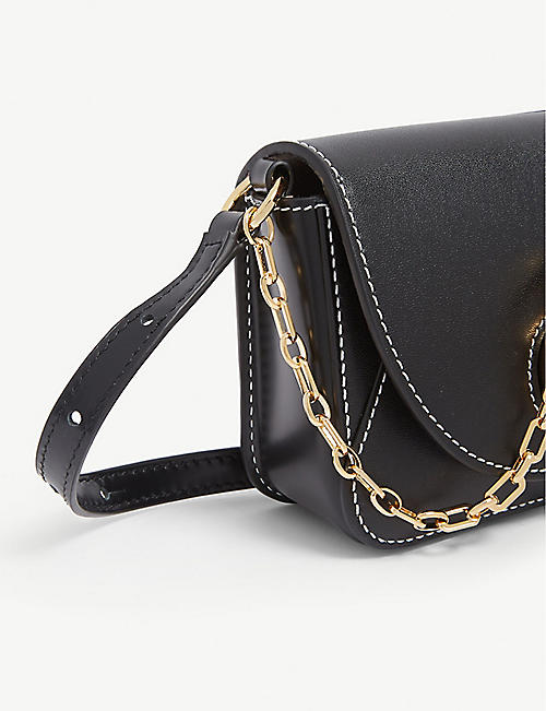 JW ANDERSON Nano key leather cross-body bag