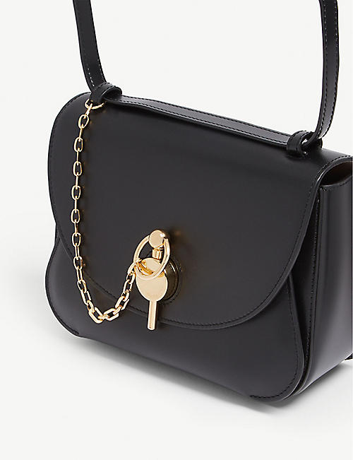 c6f5c5507e0b JW ANDERSON Key leather cross-body bag
