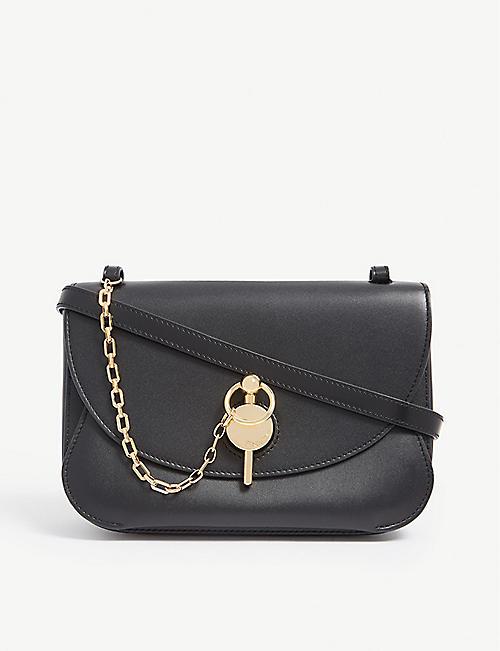 dcdf5bfa2ea1 JW ANDERSON Key leather cross-body bag