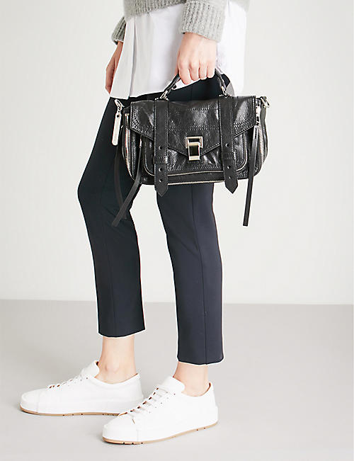 PROENZA SCHOULER PS1 tiny paper leather satchel