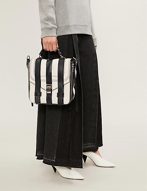 PROENZA SCHOULER Leather stripe PS1+ backpack