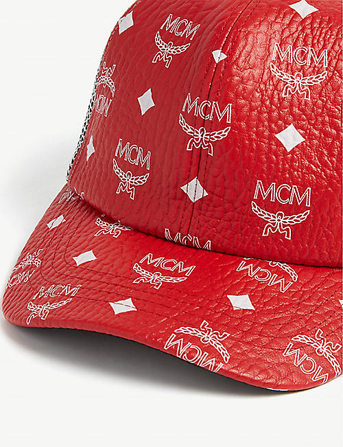 MCM Coated canvas cap