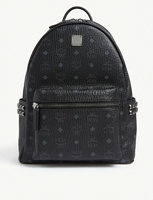 MCM Stark stud detail medium backpack