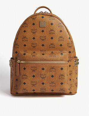 MCM Stark medium canvas backpack