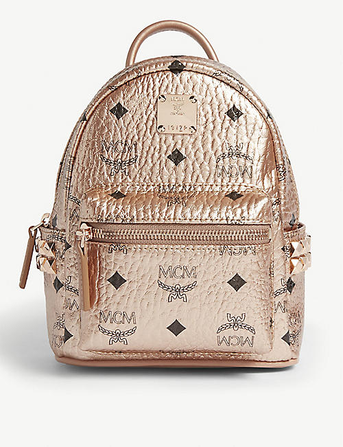 2aa6970b92 MCM Stark Visetos micro canvas backpack