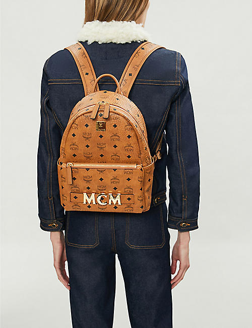 MCM Trilogie leather backpack