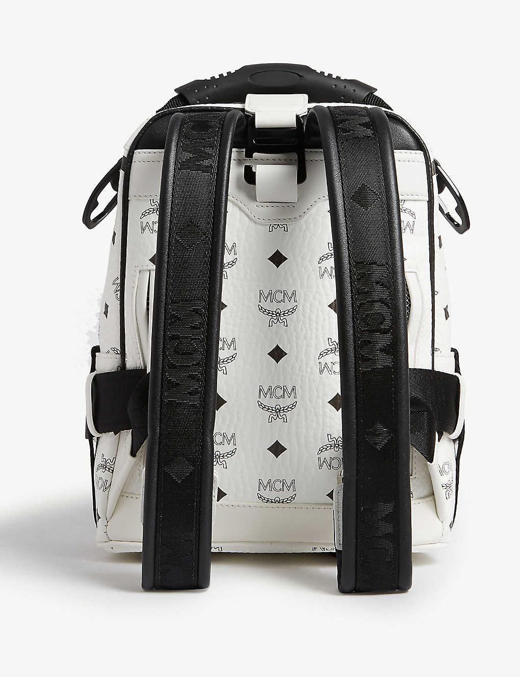 a9dbb473dc3691 ... Jemison Visetos mini backpack and belt bag - White ...