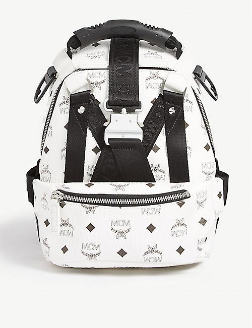 67cc363dec MCM Jemison Visetos mini backpack and belt bag