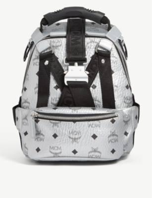 MCM Jemison Visetos mini backpack and belt bag