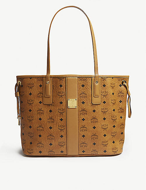 MCM Oversized leather tote