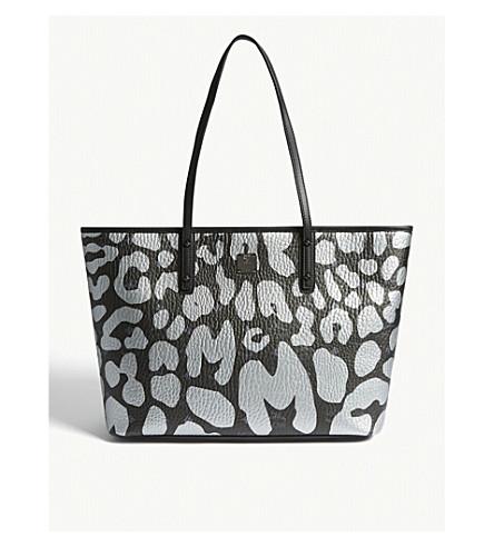 ddc7abf99a ... MCM Anya leopard print tote bag (Black. PreviousNext