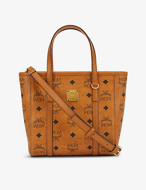 MCM Anya mini leather tote bag