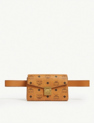 MCM Patricia Visetos belt bag