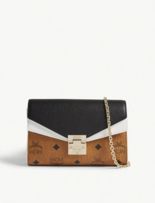 MCM Millie canvas cross-body bag