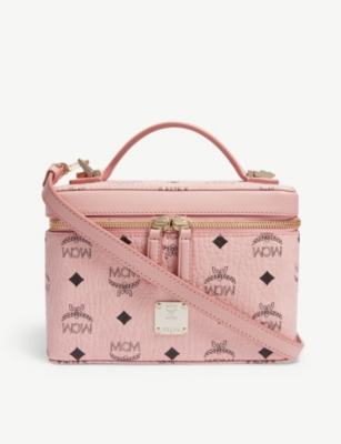 MCM Visetos canvas vanity case