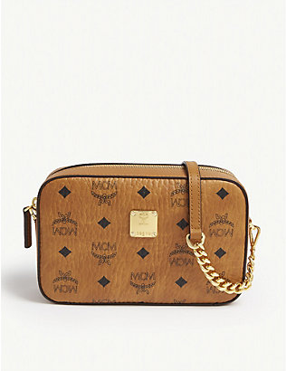 MCM: Visetos coated canvas cross-body bag