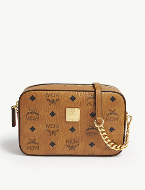 MCM Visetos coated canvas cross-body bag