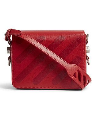"""a7f2a8f0e5f29 OFF-WHITE C O VIRGIL ABLOH - """"For Display Only"""" leather shoulder bag ..."""