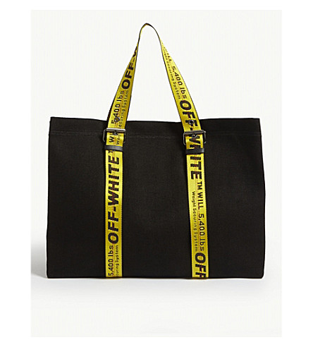 8e6b1747e412 ... OFF-WHITE C O VIRGIL ABLOH Canvas tote bag (Black. PreviousNext