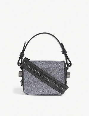 OFF-WHITE C/O VIRGIL ABLOH Glitter Baby shoulder bag