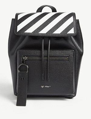 OFF-WHITE C/O VIRGIL ABLOH Leather backpack