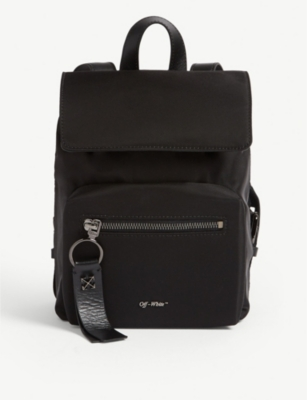 OFF-WHITE C/O VIRGIL ABLOH Binder clip nylon mini backpack