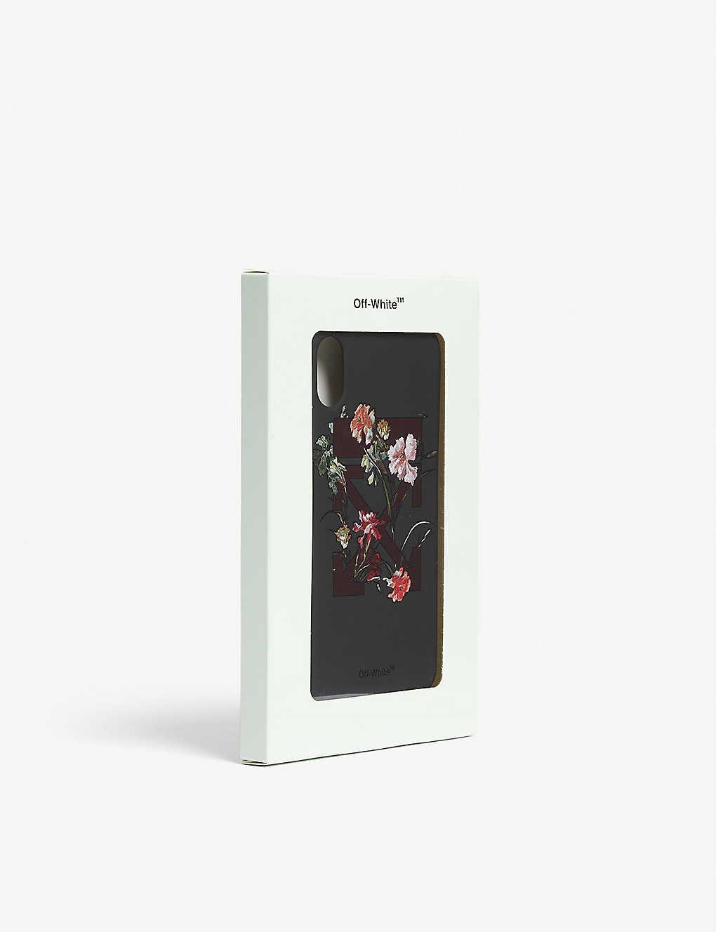 buy popular b477d ff1ff OFF-WHITE C/O VIRGIL ABLOH - Flower arrow phone case iPhone X ...