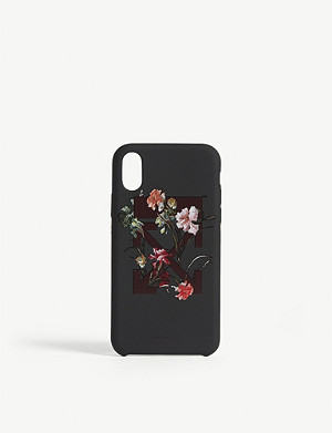 OFF-WHITE C/O VIRGIL ABLOH Flower arrow phone case iPhone X