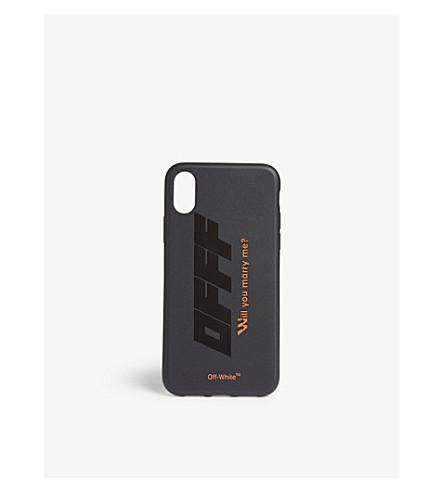 OFF-WHITE C O VIRGIL ABLOH - Modern Obstacles iphone X case ... e00b0e986