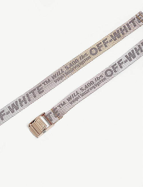 OFF-WHITE C/O VIRGIL ABLOH Mini industrial tape canvas belt