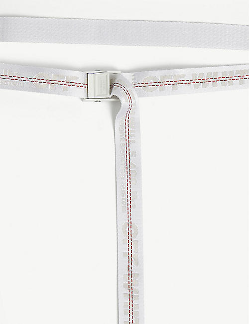 OFF-WHITE C/O VIRGIL ABLOH Mini industrial tape jacquard belt