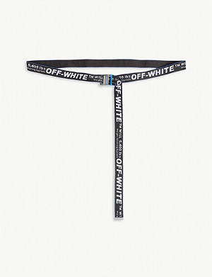 OFF-WHITE C/O VIRGIL ABLOH Jacquard industrial tape belt