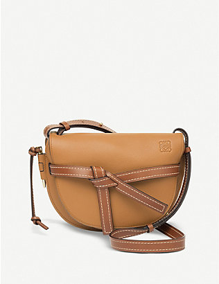LOEWE: Gate leather saddle bag