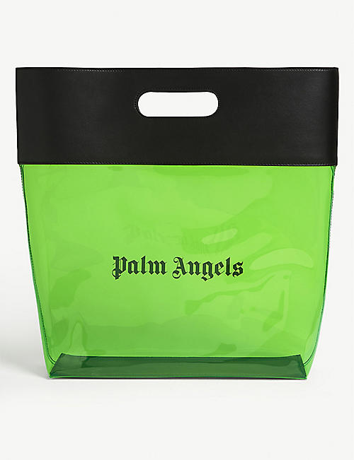 PALM ANGELS Alien PVC shopper