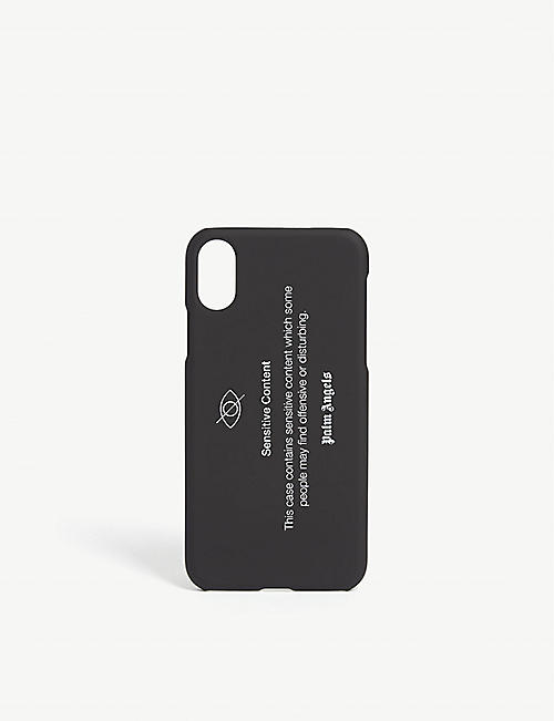 PALM ANGELS Sensitive Content iPhone X case