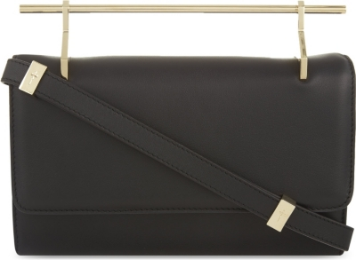 M2MALLETIER Fabricca long leather clutch