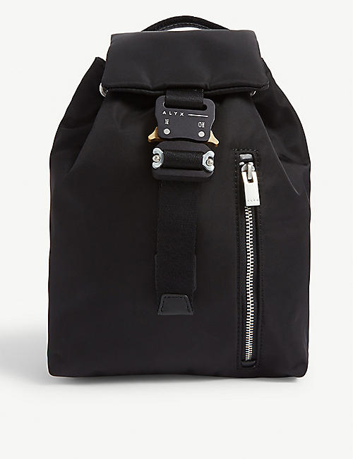 1017 ALYX 9SM Rollercoaster buckle backpack