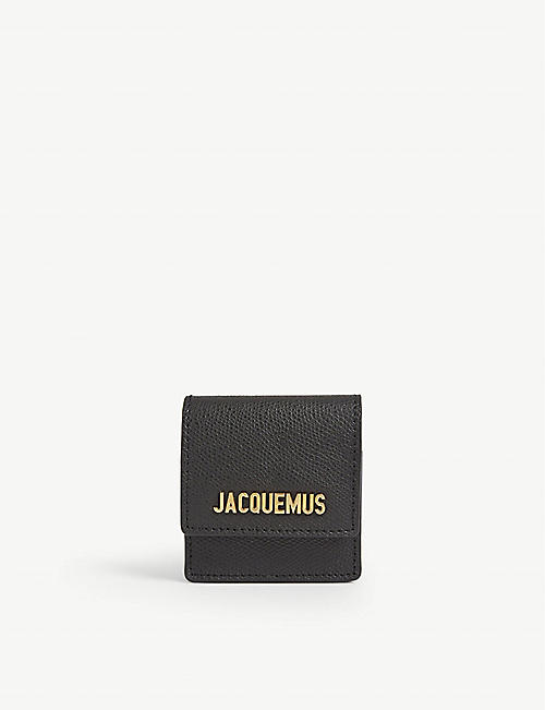 JACQUEMUS Le Sac leather bracelet bag